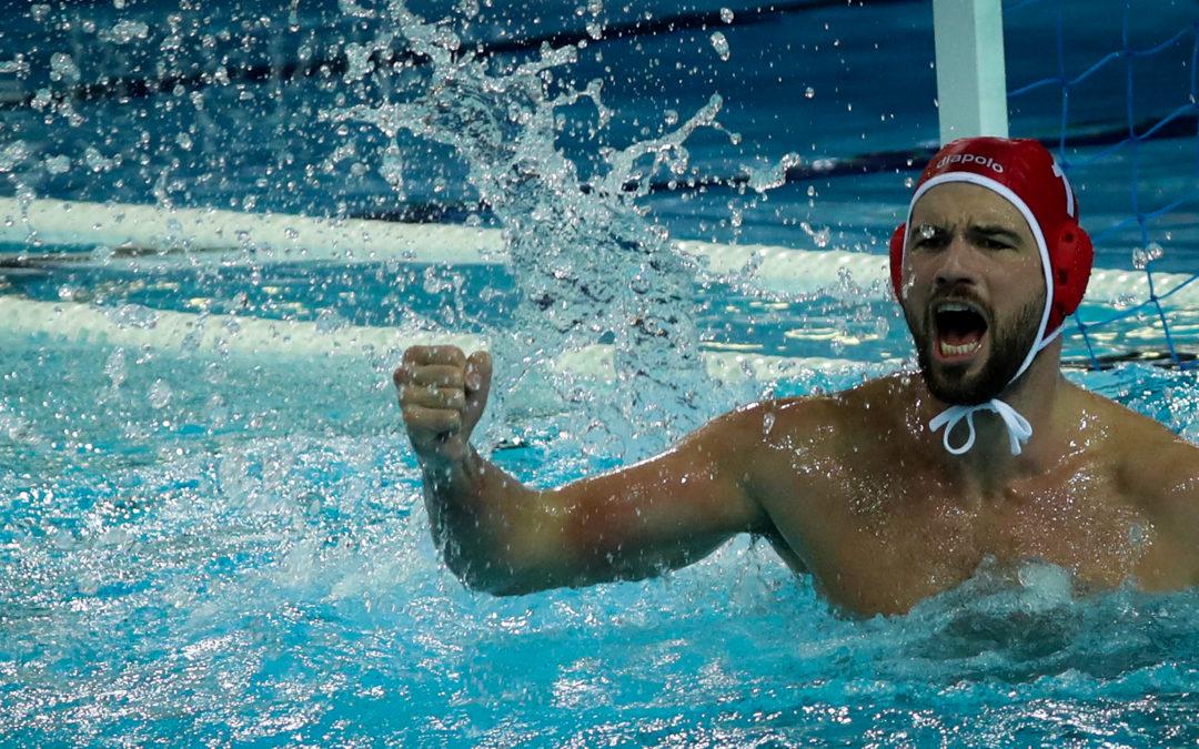 Sportbuzzer: Viele Bilder und Video: So ausgelassen feierte Waspo 98 die Wasserball-Meisterschaft