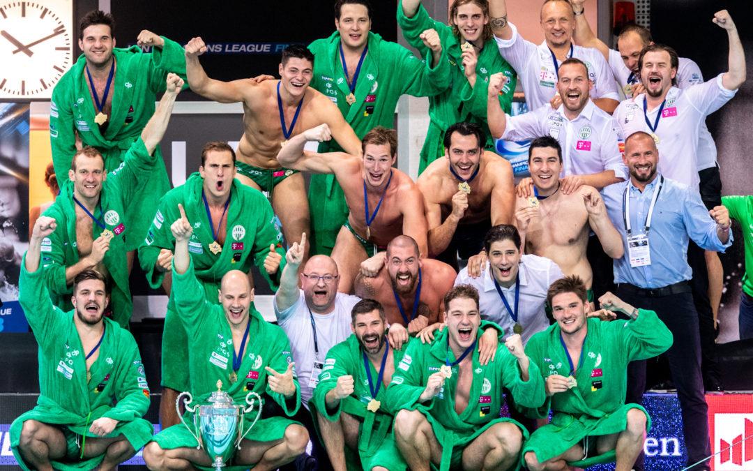 Sportbuzzer: Spannung pur im Finale: Ferencvaros Budapest gewinnt Wasserball-Champions-League