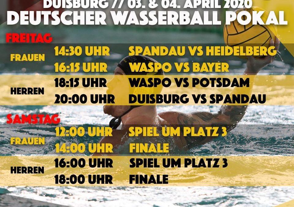 Final4 – Deutscher Wasserball Pokal 2020