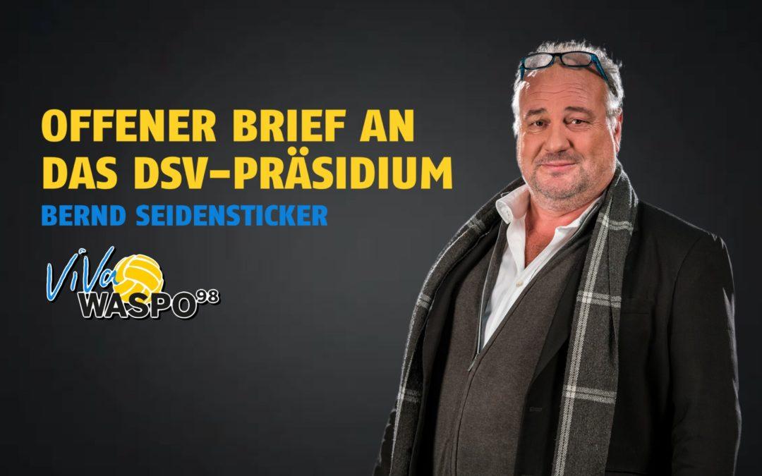 Offener Brief an das DSV-Präsidium