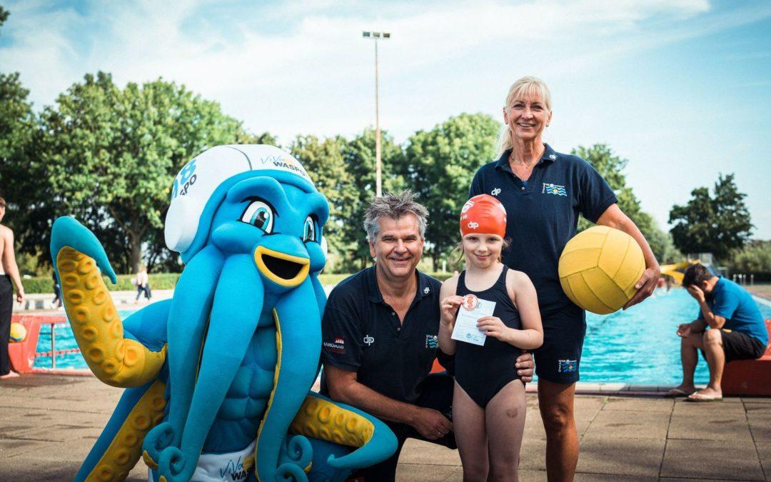 Kinderschwimmen bei WASPO98